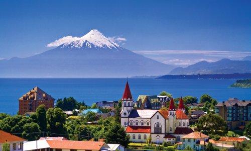 CHILE - Santiago, Lagos y Volcanes